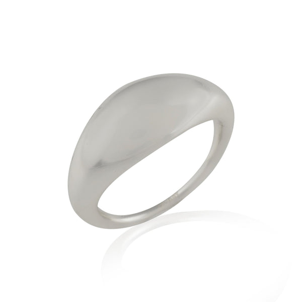 SLEEK DOME RING RING ARVINO SILVER 5
