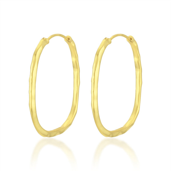 Square Hoops (Large) EARRING ARVINO