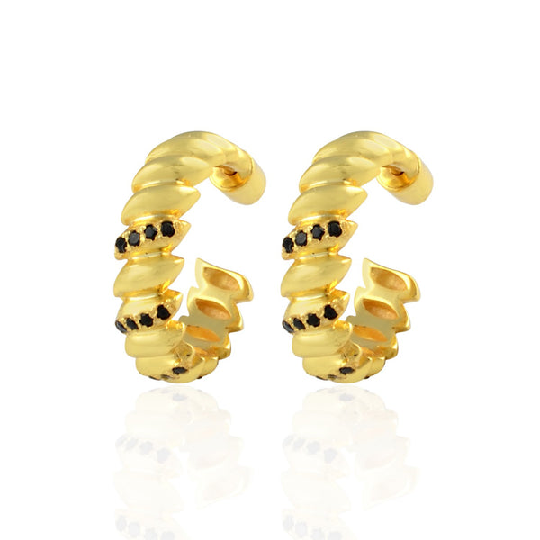 Studded Claw Hoops EARRING ARVINO