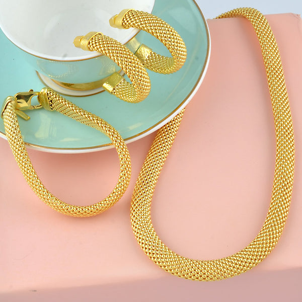 Thick Snake Chain Hoops 2 EARRING ARVINO