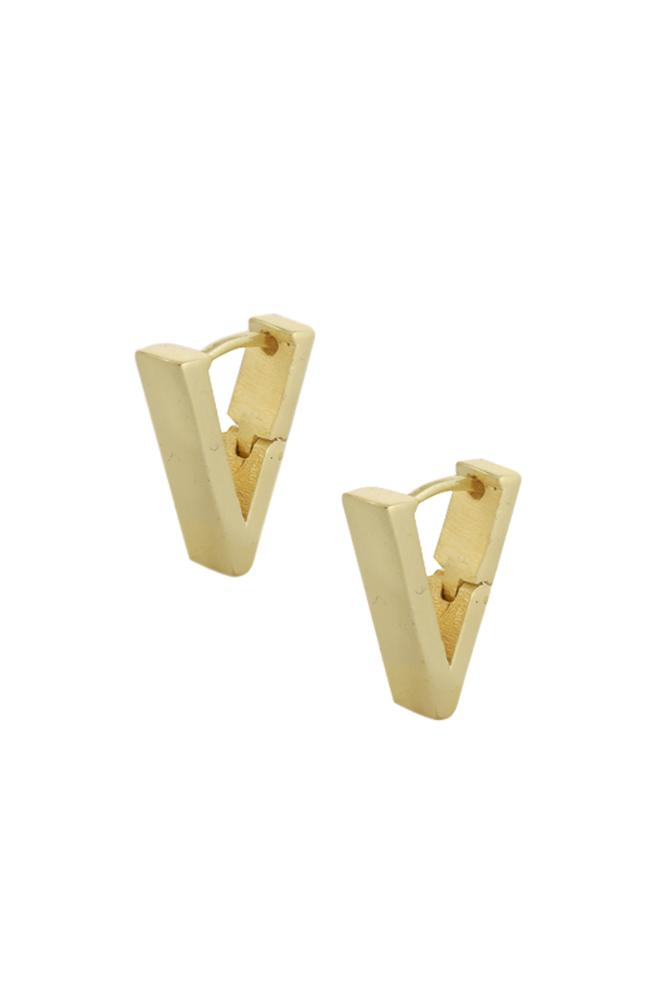 V Bar Huggies earrings ARVINO