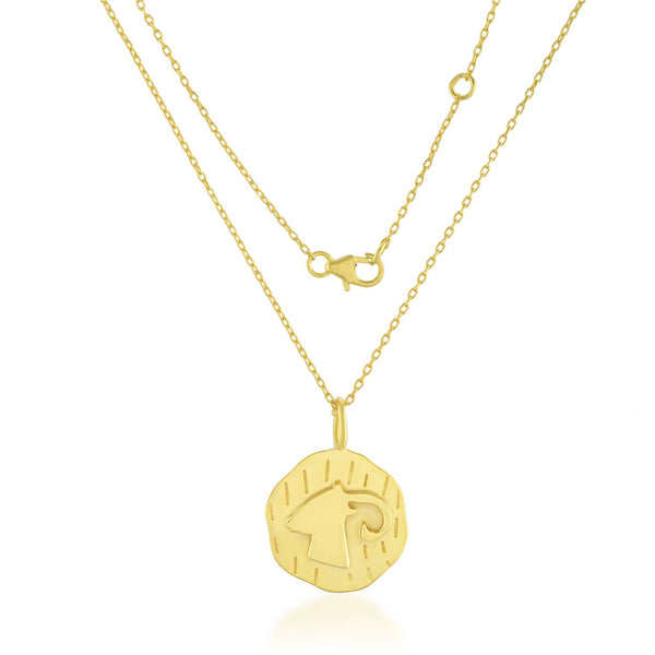 Zodiac Charm (Aries) NECKLACE ARVINO NECKLACE WITH CHAIN