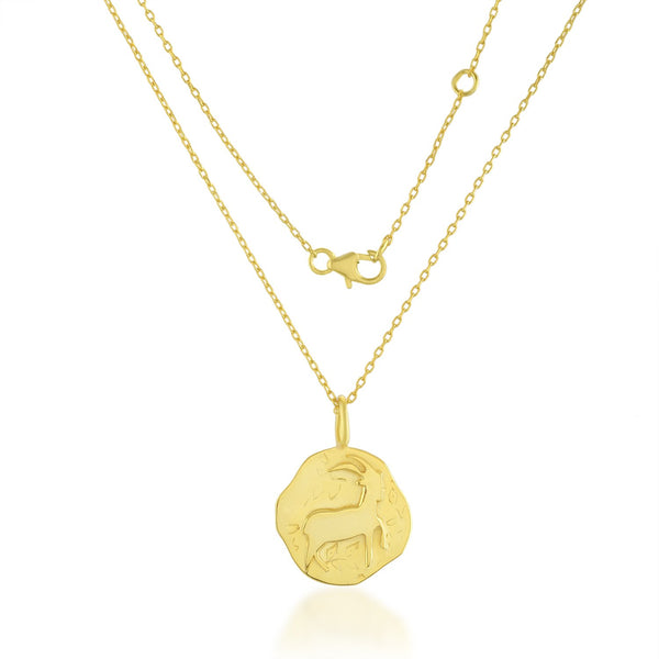 Zodiac Charm (Capricorn) NECKLACE ARVINO NECKLACE WITH CHAIN