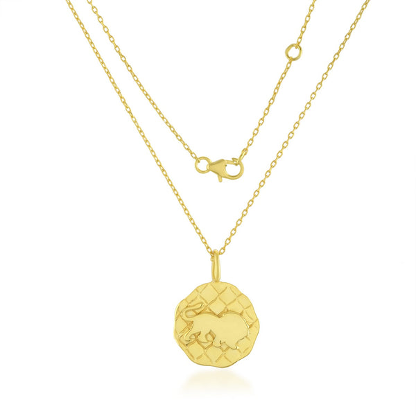 Zodiac Charm (Leo) NECKLACE ARVINO NECKLACE WITH CHAIN