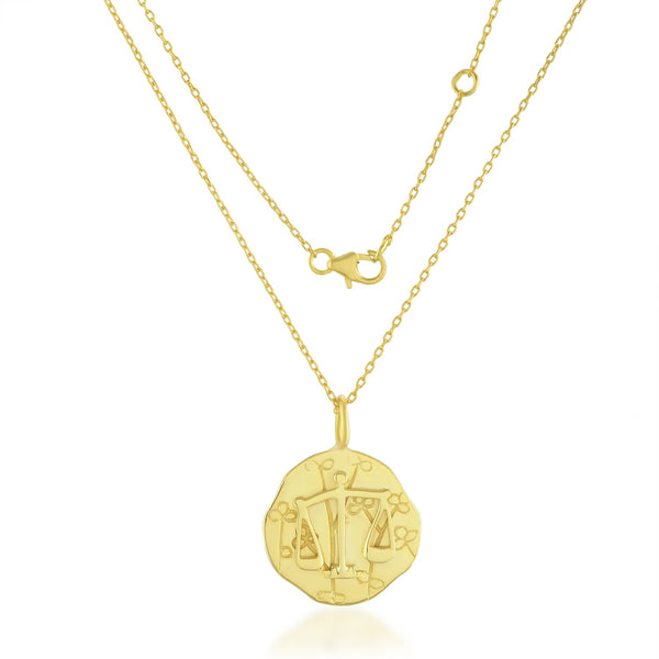 Zodiac Charm (Libra) NECKLACE ARVINO NECKLACE WITH CHAIN