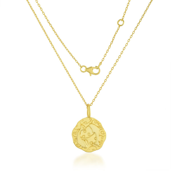 Zodiac Charm (Pisces) NECKLACE ARVINO NECKLACE WITH CHAIN