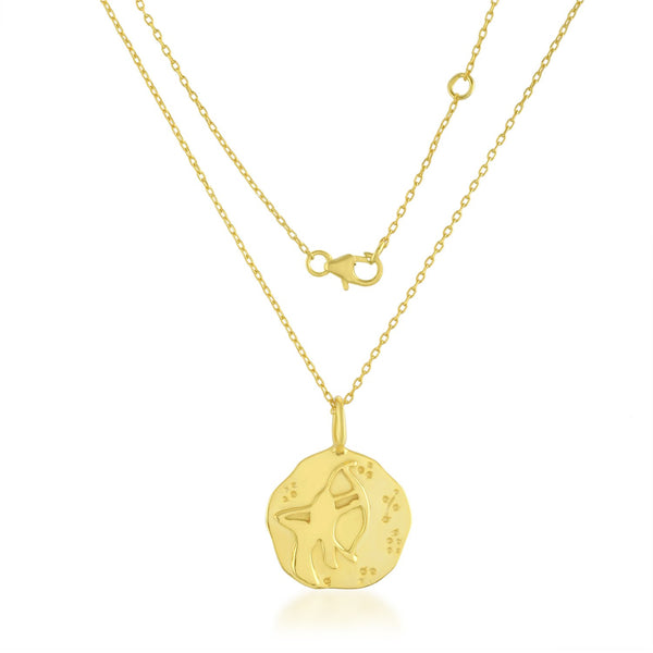 Zodiac Charm (Sagittarius) NECKLACE ARVINO NECKLACE WITH CHAIN