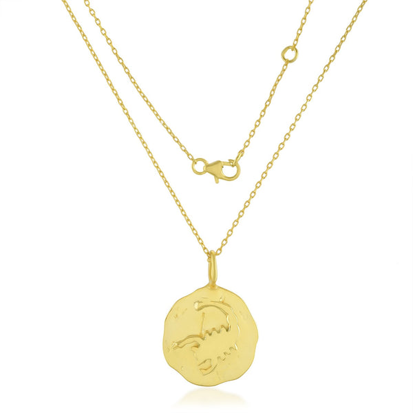 Zodiac Charm (Scorpio) NECKLACE ARVINO NECKLACE WITH CHAIN