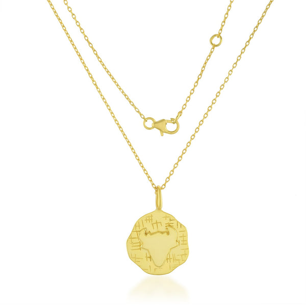 Zodiac Charm (Taurus) NECKLACE ARVINO NECKLACE WITH CHAIN