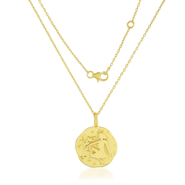 Zodiac Charm (Virgo) NECKLACE ARVINO NECKLACE WITH CHAIN