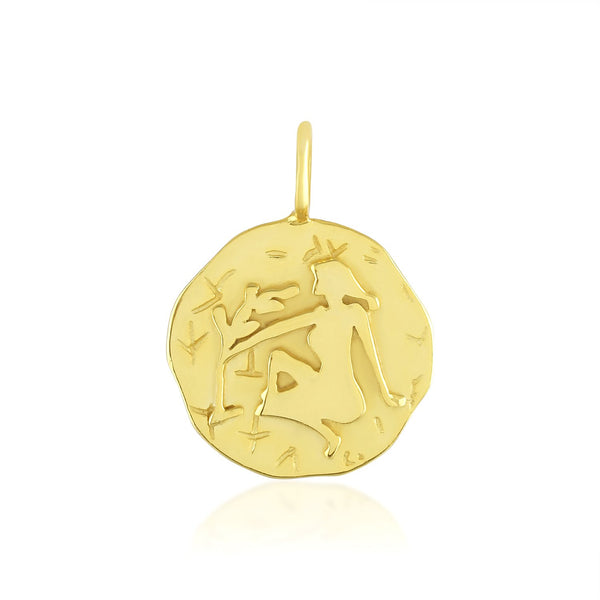 Zodiac Charm (Virgo) NECKLACE ARVINO PENDANT ONLY