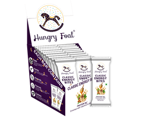 Hungry Foal Classic Energy Bites | Box of 20 Bars