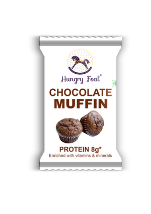 Hungry Foal Chocolate Muffin (Box of 20 muffins)