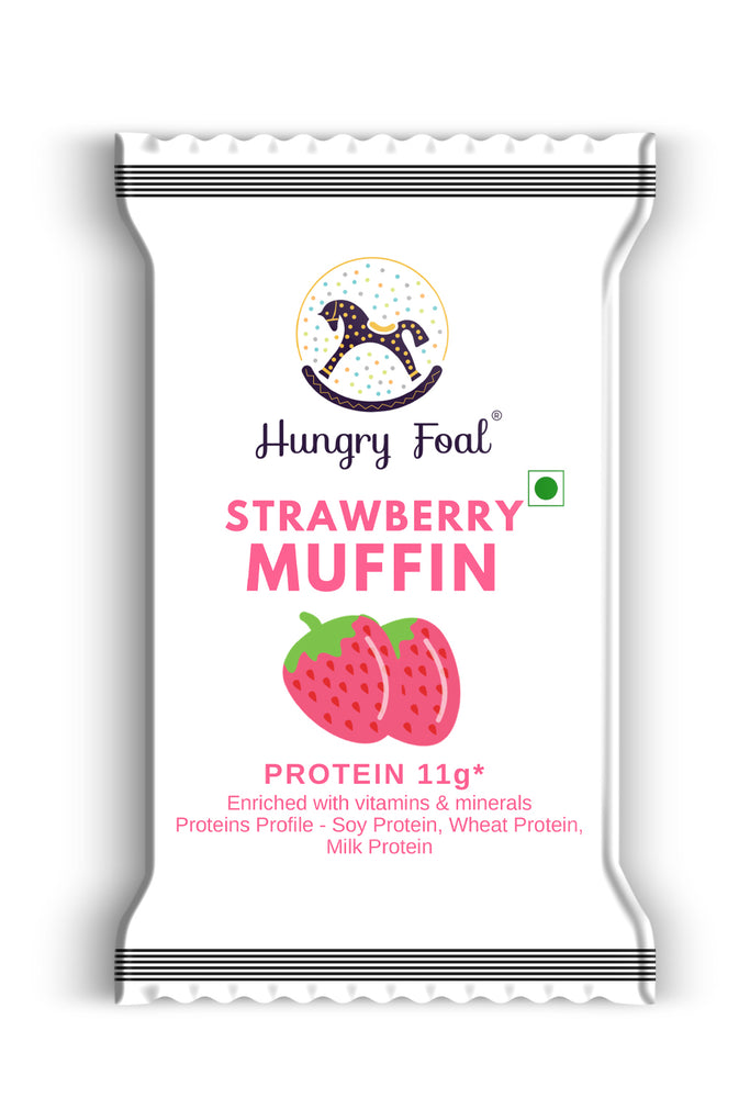 Hungry Foal Strawberry Muffin (Box of 20 muffins)