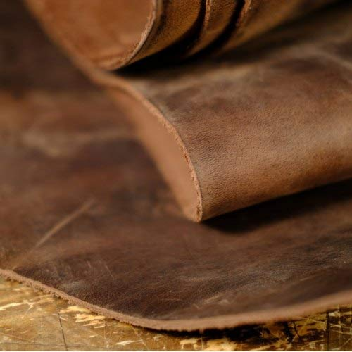 Full grain cow hide leather crafts tooling sewing hobby workshop