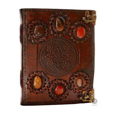 HANDMADE VINTAGE LEATHER BOUND JOURNAL  1