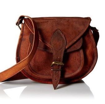 LEATHER CROSSBODY BAG FOR WOMEN PURSE