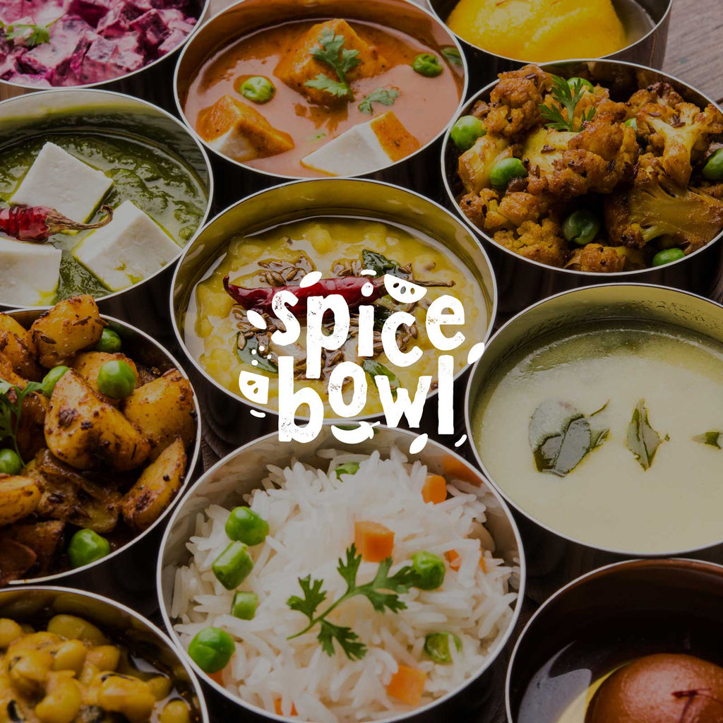 Spice Bowl. Indian inspired curries and cuisine.