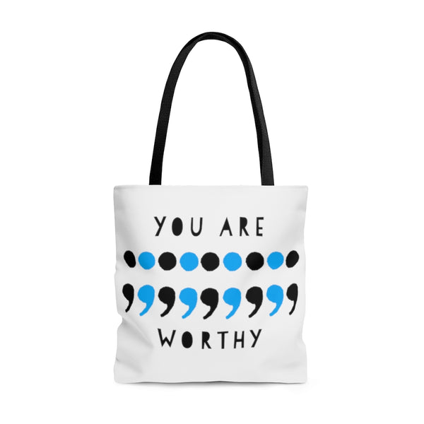 """You are Worthy"" tote bag"