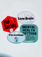 Love-Brain Sticker Pack