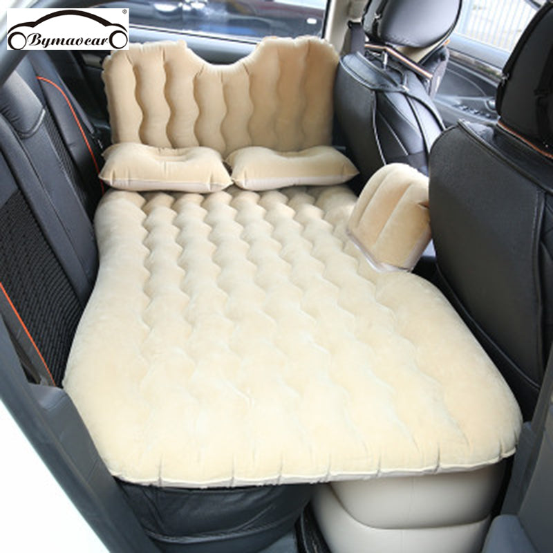 Bymaocar Car inflatable bed  Multifunctional travel bed 900*1350(mm) car