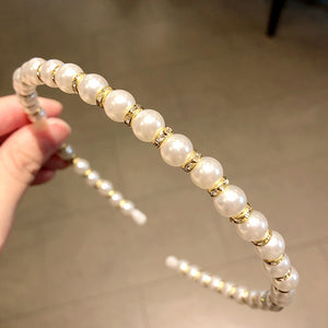 New Women Elegant Full Pearls Simple