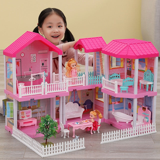 Play House Toys Model Princess Castle