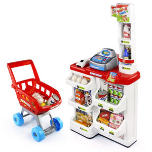 Checkout Counter Multifunctional Simulation Supermarket