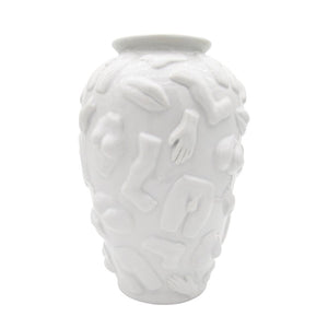 Vase White with Limbs