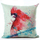 450mm*450mm / M2221-2 Cosy Colorful Birds Throw 40945677-450mm-450mm-china-m2221-2