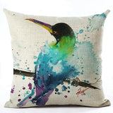 450mm*450mm / M2221-5 Cosy Colorful Birds Throw 40945677-450mm-450mm-china-m2221-5