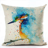 450mm*450mm / M2221-6 Cosy Colorful Birds Throw 40945677-450mm-450mm-china-m2221-6