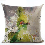450mm*450mm / M2221-7 Cosy Colorful Birds Throw 40945677-450mm-450mm-china-m2221-7
