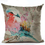 450mm*450mm / M2221-8 Cosy Colorful Birds Throw 40945677-450mm-450mm-china-m2221-8