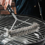BBQ Grill Stainless Steel Cleaning Brush 28577478-1