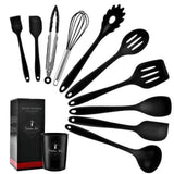 BLACK-11PCS Cosy Non-stick Cooking Tool Set 28743028-china-black-11pcs