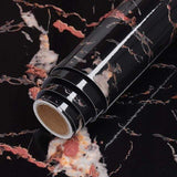black gold / 40cm x 1m Cosy Waterproof Marble Wallpaper 27662819-black-gold-40cm-x-1m