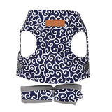 Blue / XS Japanese Style Cat Harness Vest 26248873-blue-xs-china