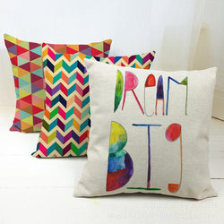 Cosy Geometry Cushion Cover