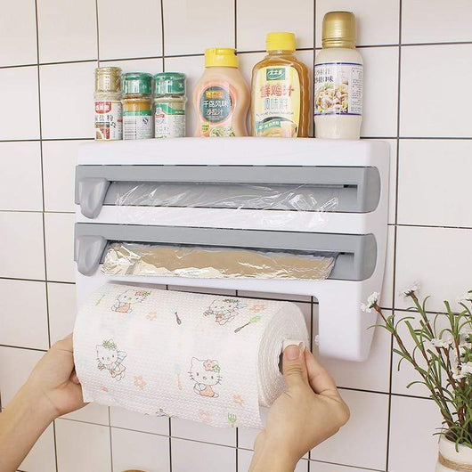 Khaki Cosy Kitchen Paper Towel Dispenser 40498925-khaki