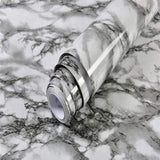 Dark Gray / 40cm x 1m Cosy Waterproof Marble Wallpaper 27662819-dark-gray-40cm-x-1m