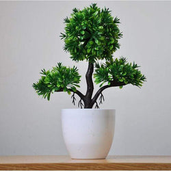 yingkesong green Artificial Potted Bonsai Plants 35765760-yingkesong-green