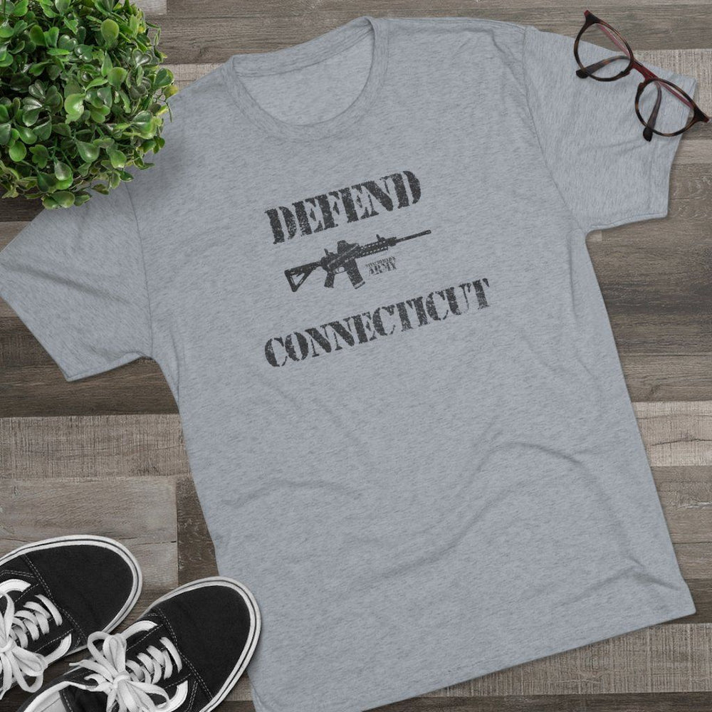 "Load image into Gallery viewer, ""Defend Connecticut"" Men's T-Shirt"