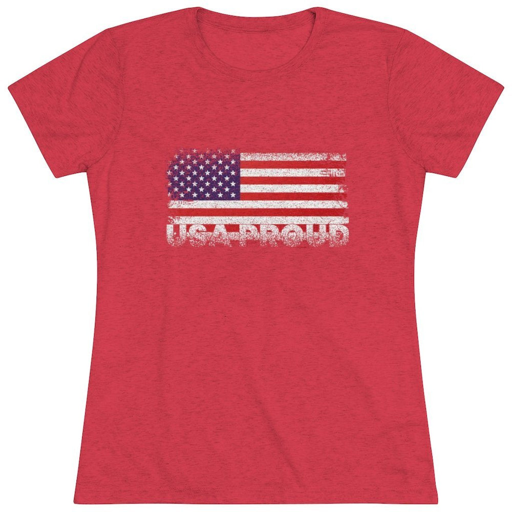 "Load image into Gallery viewer, ""USA Proud"" Women's T-Shirt"