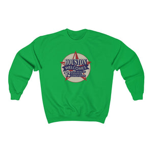 "Load image into Gallery viewer, ""Houston Welcomes RNC '92"" Women's Crewneck Sweatshirt"