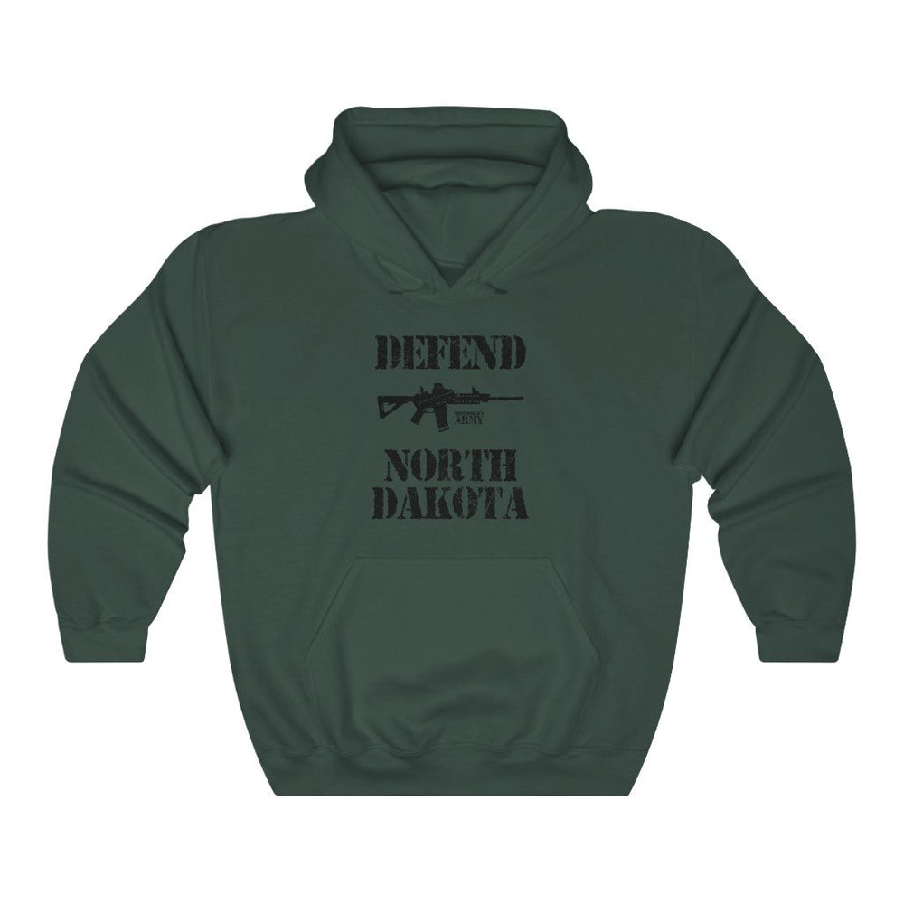 """Defend North Dakota"" Men's Hoodie"