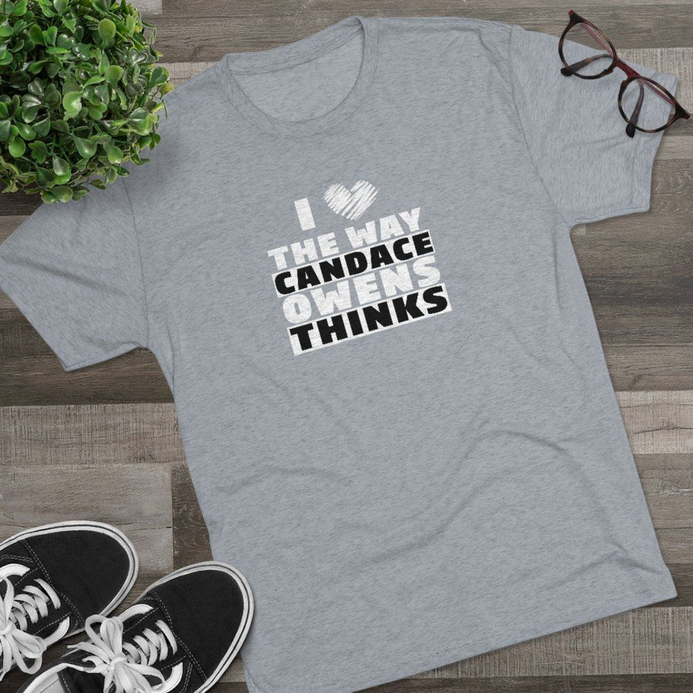 """I Love The Way Candace Thinks"" Men's T-Shirt"