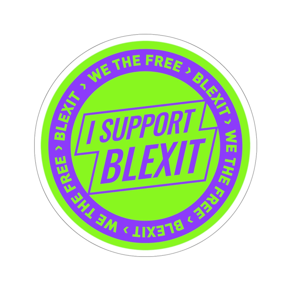 """BLEXIT Support"" Sticker"