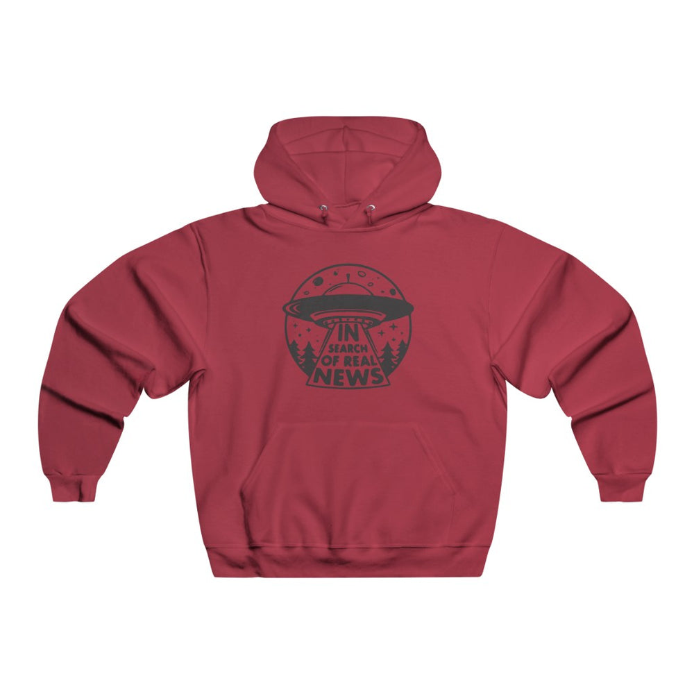 "Load image into Gallery viewer, ""In Search of Real News"" Women's Hoodie/Sweatshirt"
