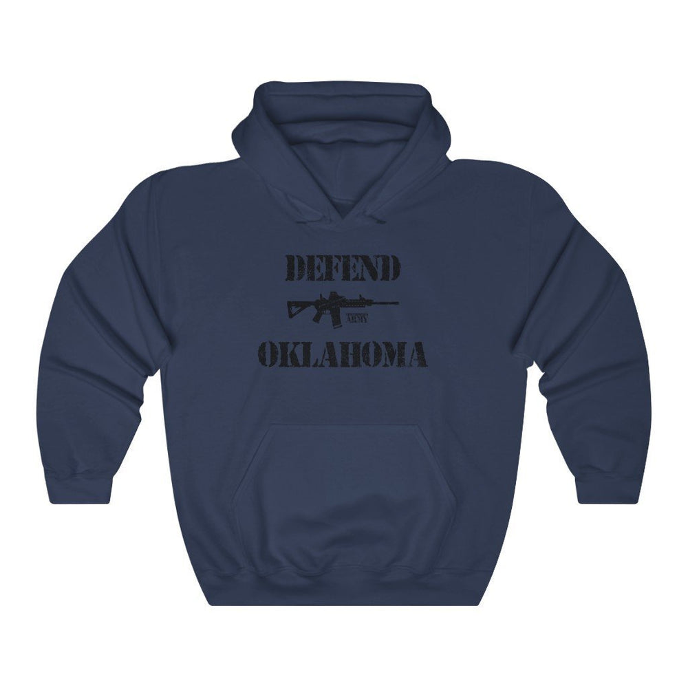 "Load image into Gallery viewer, ""Defend Oklahoma"" Men's Hoodie"